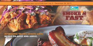 New Smoke'NFast Chicken Belly Rebate 6 2017