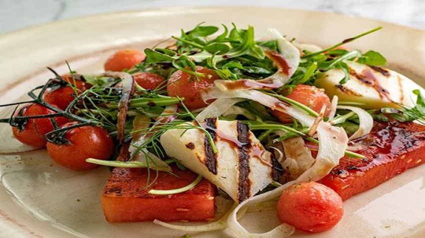 grilled-halloumi-and-watermelon-salad-with-basil-vinaigrette-minors-food-service-recipe-540x400_resized