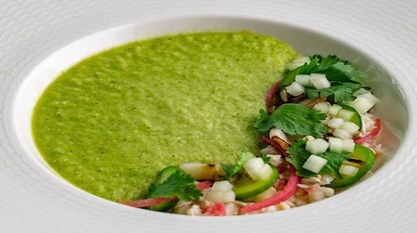 tomatillo-cucumber-and-honeydew-gazpacho-with-crab-salad-minors-food-service-recipe-540x400_850x475